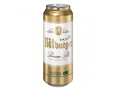 Bitburger 50cl Dose
