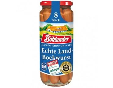 Böklunder 8 Echte Landbockwurst 360g