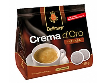 Dallmayr Crema d'Oro Intensia 16 pads