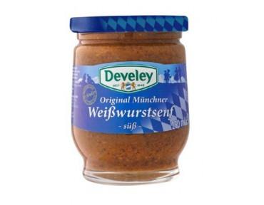 Develey Original Münchner Weißwurst Senf süß 250g