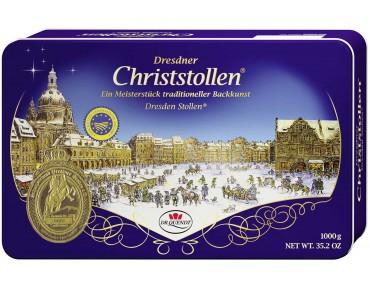 Dr. Quendt Dresdner Christstollen Dose 1kg