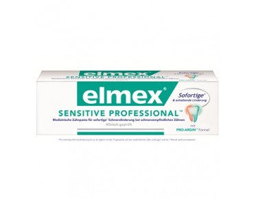 Elmex Dentifrice Professionnel dents sensibles