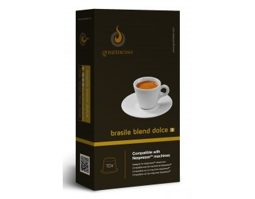 Gourmesso Brasile Blend Dolce 10 capsules