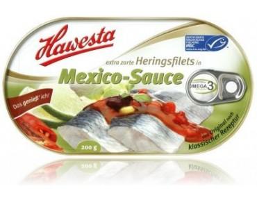 Hawesta Heringsfilet in Mexiko Sauce 200g