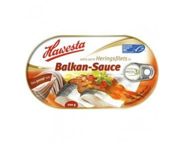 Hawesta Heringsfilets in Balkan-Sauce 200g