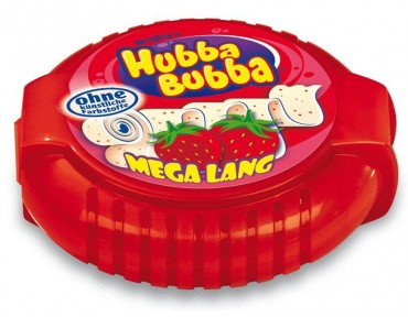 Hubba Bubba Bub Tapes Strawberry