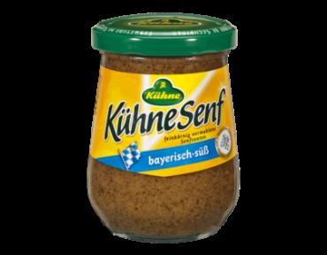 Kühne Moutarde sucrée de Bavière