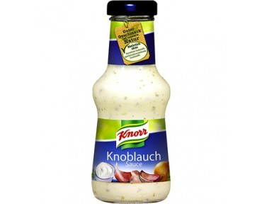 Knorr sauce Knoblauch 250ml