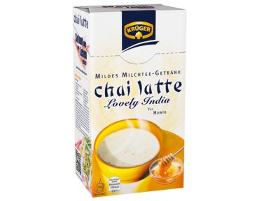 Krüger chai latte Lovely India 10 portion