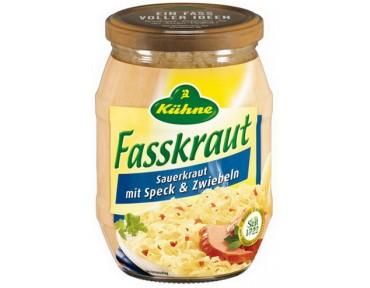 Kühne Fasskraut mit Speck & Zwiebeln 425ml