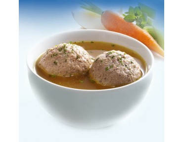 Zimmermann Leber Knödel Suppe
