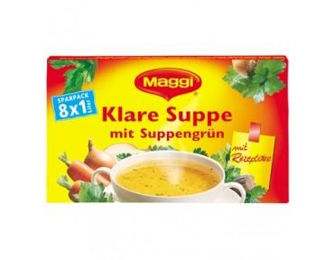 Maggi Klare Suppe mit Suppengrün 8 x 1L