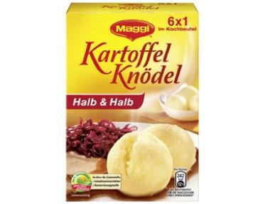 Maggi Kartoffelknödel Halb & Halb, im Kochbeutel