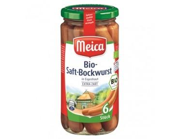 Meica 6 Bio Saft Bockwurst 180g