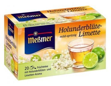 Messmer Infusion Fleurs de Sureau et Limette