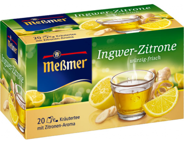 Messmer infusion gingembre et Citron
