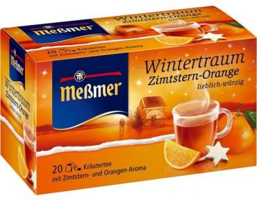 Messmer Wintertraum Zimtstern-Orange