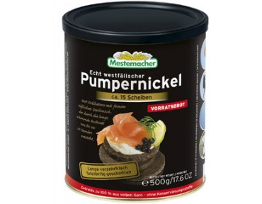 Mestemacher Pumpernickel boite 500g