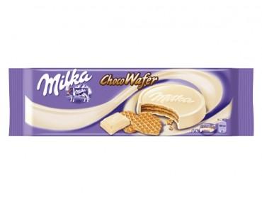 Milka Choco Wafer Weiss 180g
