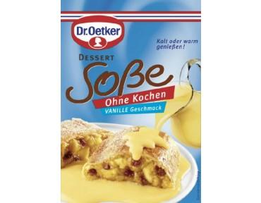 Oetker Dessert Sauce Vanille Ohne Kochen