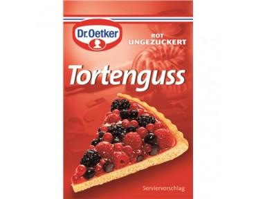 Oetker Tortenguss Rot x3