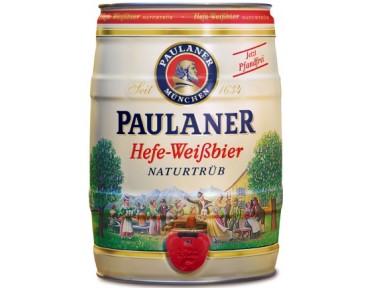 Paulaner fut de 5L Hefe-Weissbier Naturtrüb