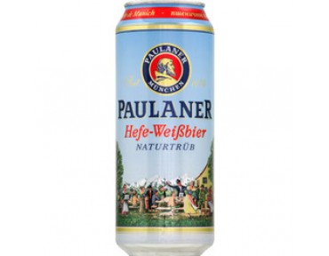 Paulaner Hefe-Weissbier 50cl Canette