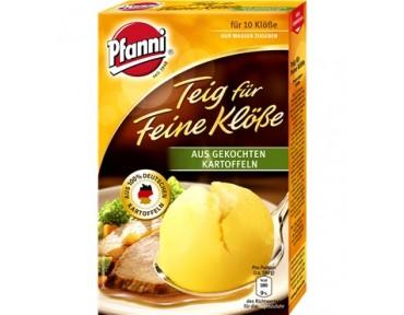 Pfanni Teig für Klöße aus gekochten Kartoffeln