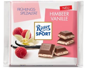 Ritter Sport Himbeer Vanille