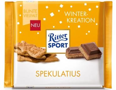 Ritter Sport Winter-Kreation Spekulatius