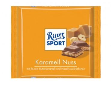 Ritter Sport Karamell Nuss 100g
