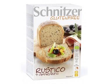 Schnitzer Pain Rustico à l'Amarante Bio et sans gluten 500g