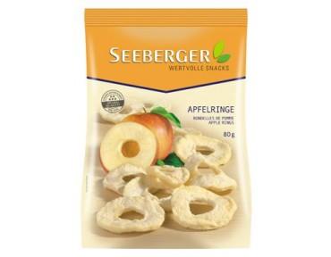 Seeberger rondelles de pomme 80g