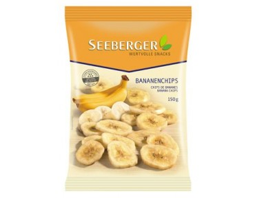 Seeberger Chips banane 150g