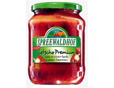 Spreewaldhof Letscho Premium 720 ml