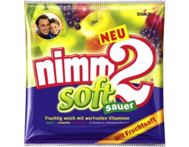 Storck Nimm 2 Soft Sauer 116g