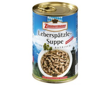 Zimmermann Leberspätzle Suppe 400ml