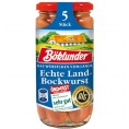 Böklunder 5 Echte Landbockwurst 250g