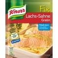 Knorr Fix für Lachs-Sahne Gratin