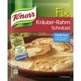 Knorr Fix für Kräuter-Rahm Schnitzel
