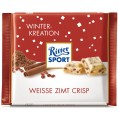 Ritter Sport Winter-Kreation Weiße Zimt Crisp