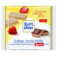 Ritter Sport Erdbeer Vanille-Waffel 100g