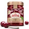 Zentis 75% Frucht Schwarzkirsche 320g