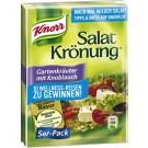Salatkrönung Gartenkrauter mit Knoblauch