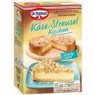 Oetker Käse-Streusel Kuchen