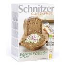 Schnitzer Pain Foret noire Teff Bio et sans gluten 500g