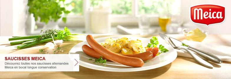 saucisses allemandes