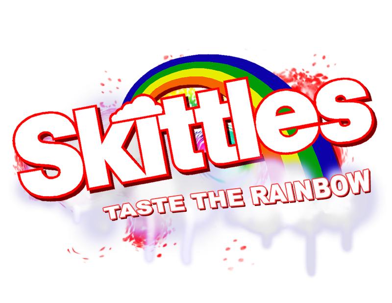 Skittles - MyGermanMarket.com Skittles Taste The Rainbow Logo