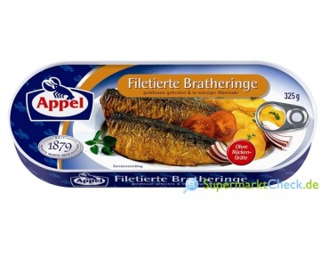Appel Filetierte Bratheringe 325g