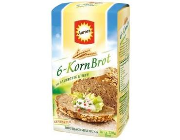 Aurora 6 Korn Brot  500g